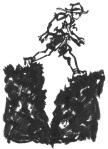 Malpais hiker